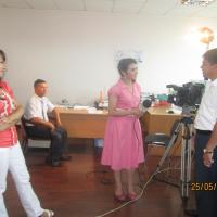 Фрагменты процесса съемки для телеканала Ёшлар, (йул-йулакай)